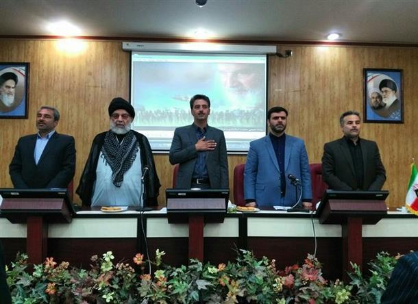 جلسه اعضاي شوراي اداري شهرستان طبس برگزار گرديد